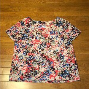 J. Crew Factory Printed T Shirt